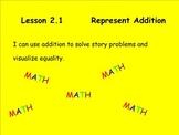 Math Expressions Unit 2 Lesson 1