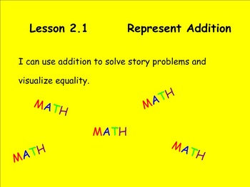 Math Expressions Unit 2 Lesson 1