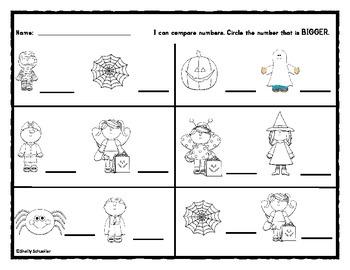 Math Expressions Unit 2 Lesson 1 materials