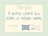 Math Expressions Unit 2 Vocabulary