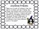 Math Expressions, Unit 3, Grade 4, Anytime Problems, HMH 2013