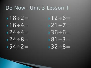 Math Expressions Unit 3 Lesson 1-5 grade 4