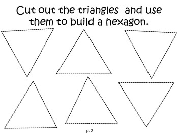 Math Expressions Unit 3 Lesson 9 - Building Shapes