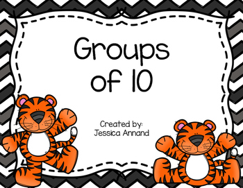Groups of 10 Task Cards