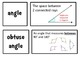Math Expressions Unit 4 Match Up Vocabulary Cards