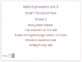 Math Expressions Unit 5 Grade 2 Smart Notebook Companion Files