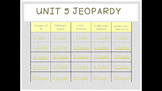 Math Expressions Common Core Unit 5 Jeopardy for 1st Grade