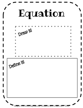 Math Expressions, Unit 5 Vocabulary Book