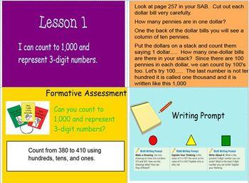 Math Expressions Unit 6 Grade 2 Smart Notebook Companion Files