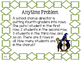 Math Expressions, Unit 6, Grade 4, Anytime Problems, HMH 2013