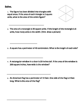 Math Expressions Unit 6 Review 3rd Grade - ANSWER KEY Included