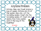 Math Expressions, Unit 7, Grade 4, Anytime Problems, HMH 2013