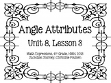 Math Expressions, Unit 8, Grade 4, Geometric Attributes Ca