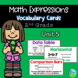 Math Expressions Vocabulary Cards Grade 2 Unit 5