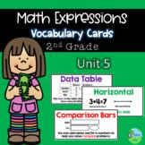 Math Expressions Vocabulary Cards Grade 2 Unit 5