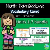 Math Expressions Units 1-7 Grade 2 Vocabulary