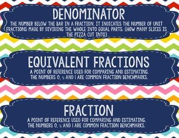 Math Expressions Vocabulary - Unit 1