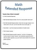 Math Extended Response Kit