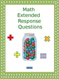 Math Extended Response Pack