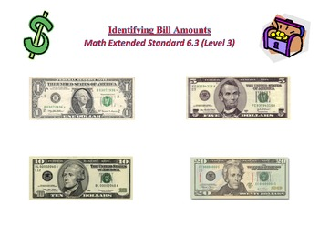 Math Extended Standard 6.3 (Complexity Level 3) - Identifying Like Bills