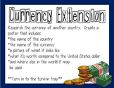 Math Extension - Currency (Everyday Math Unit 10)