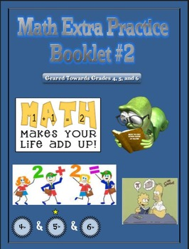 Math Extra Practice Workbook #2