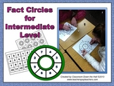 Math FACT CIRCLES for intermediate level