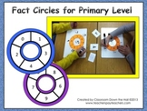 Math FACT CIRCLES for primary level