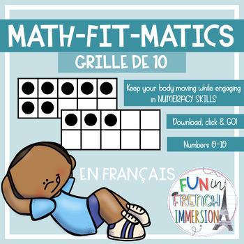 Math-FIT-Matics - 10 Frames - French