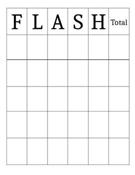 Math FLASH Game Template