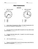 Math FSA (Florida Standards) Assessment - Time