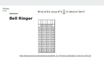 Math FSA Prep: 6 days