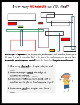 Math FUN:  Geometry Challenges