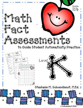 Math Fact Assessments to Guide Student Automaticity Practice for Kindergarten