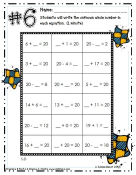 Math Fact Assessments to Guide Student Automaticity Practice for Second Grade