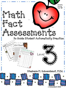 Math Fact Assessments to Guide Student Automaticity Practice for Third Grade