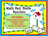 SMART Board Math Fact Families