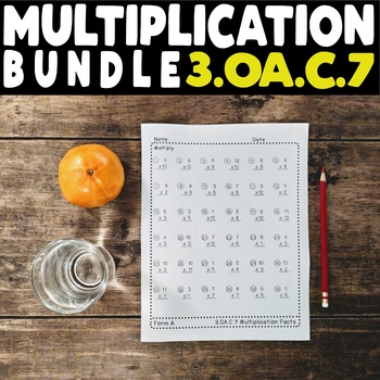 Math Fact Bundle! 3.OA.C.7