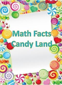 Math Fact CandyLand