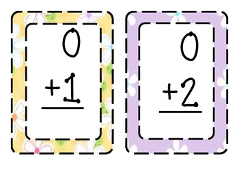 Math Fact Cards and Clock Labels