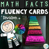 Math Fluency Practice Cards for Division Facts