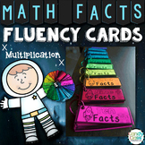 Math Fact Fluency Practice Cards for Multiplication Facts