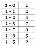 Math Fact Cards up to 12+12