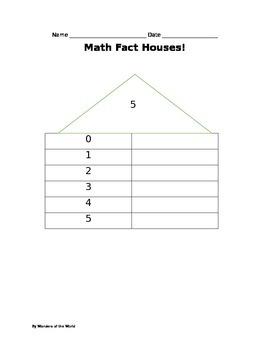 Math Fact Center