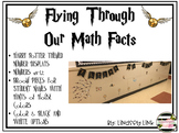 Math Fact Challenge Wall Display: Magical Themed Flying Th