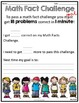 Math Fact Challenges (Addition Fact Tests)