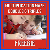 FREE Distance Learning Multiplication Math Facts Maze: Dou