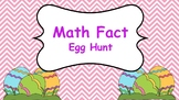 Math Fact Egg Hunt