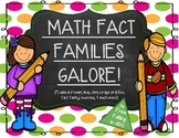 Math Fact Families Galore! (flashcards, practice pages, & much more!)