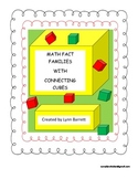Math Fact Families Using Connecting Cubes